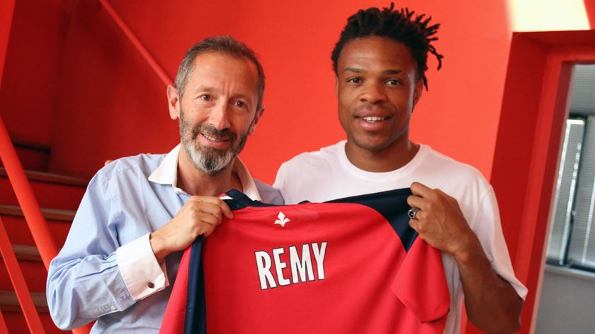 Remy regressa a França depois de ter abandonado o campeonato francês em 2012/13. Foto: Site do Lille.