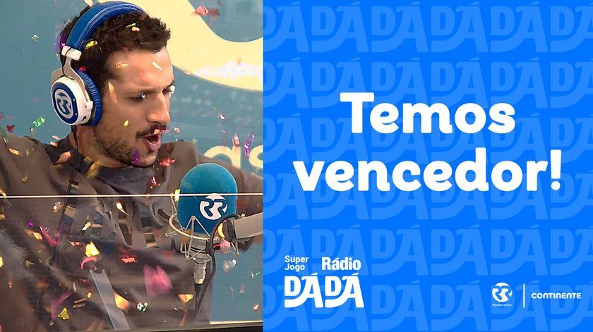 A Ana Vieira ganhou 1000 euros no Super Jogo Rádio Dá Dá