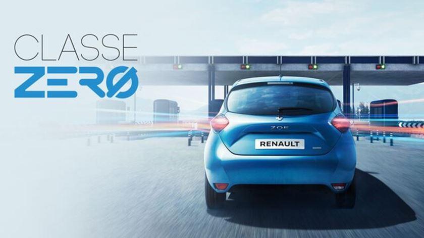 """Se polui zero, paga zero""? Regulador retira ""publicidade enganosa"" da Renault"
