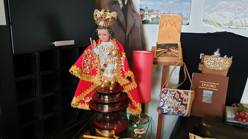Réplica da imagem de Sto Niño de Cebu. Foto: Olímpia Mairos/RR