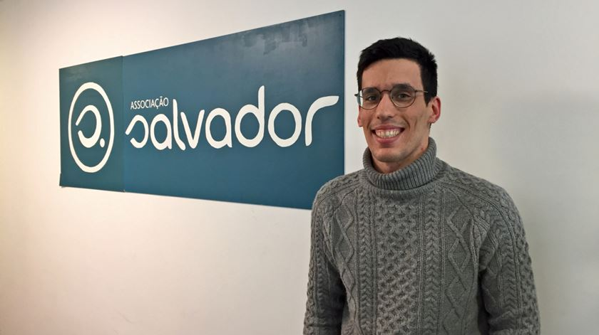 """Diogo procura emprego há um ano mas, lamenta, """"depois não há feedback"""". Foto: Sandra Afonso/RR"""