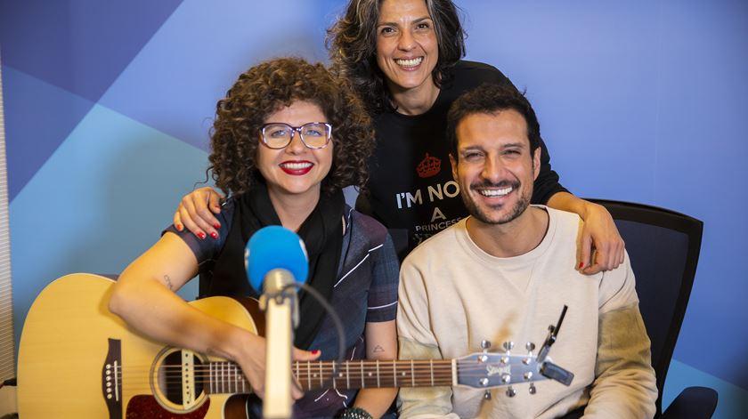 Pela primeira vez em Portugal, Roberta Campos deu um abraço à Sónia e ao Renato
