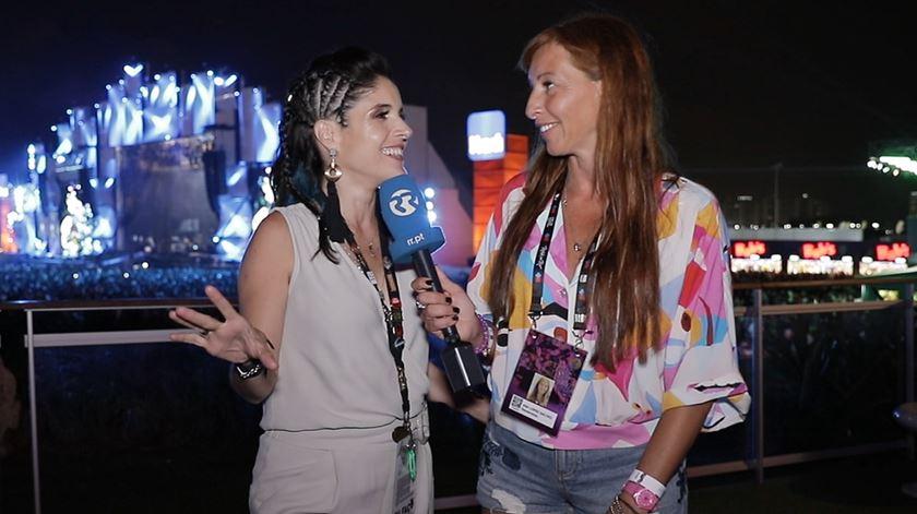 """Ana Galvão falou com Roberta Medina e """"arrancou-lhe"""" algumas novidades"""