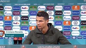 """UEFA critica gestos das garrafas. """"As receitas publicitárias são importantes para o futebol europeu"""""""