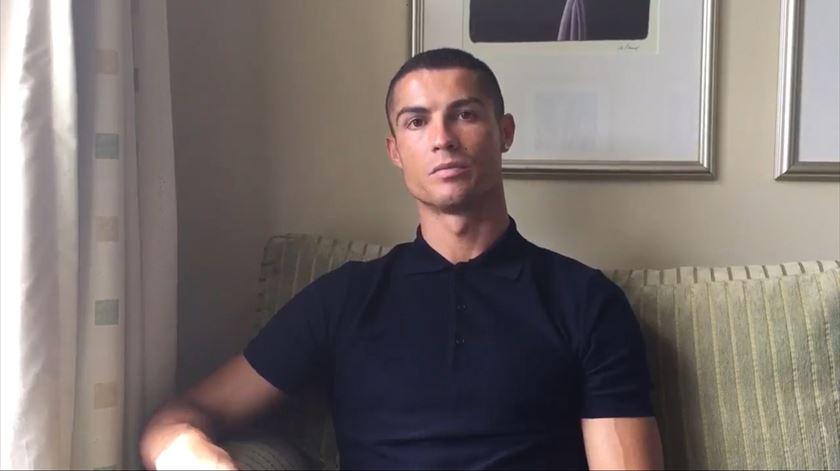O vídeo sobre refugiados que Ronaldo quer que todos vejam