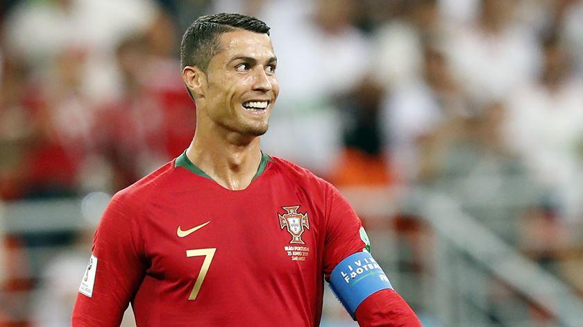 Ouça o relato dos três golos de Cristiano Ronaldo na vitória portuguesa na Liga das Nações