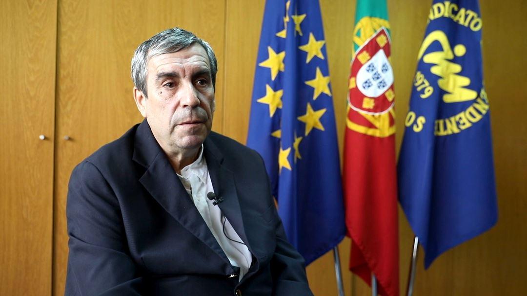 Jorge Roque da Cunha, secretário-geral do Sindicato Independente dos Médicos. Foto: Inês Rocha.