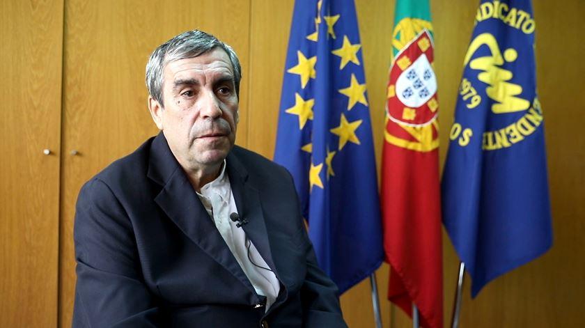 Jorge Roque da Cunha, secretário-geral do Sindicato Independente dos Médicos.