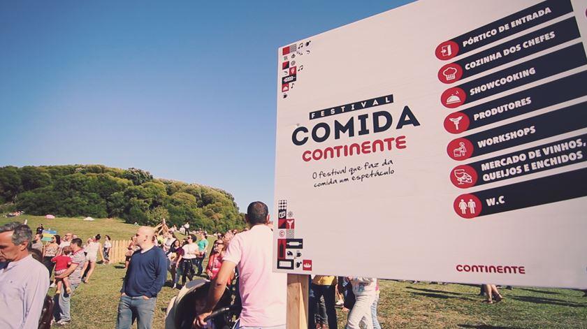 Veja como foi o primeiro dia do Festival Comida Continente no Porto