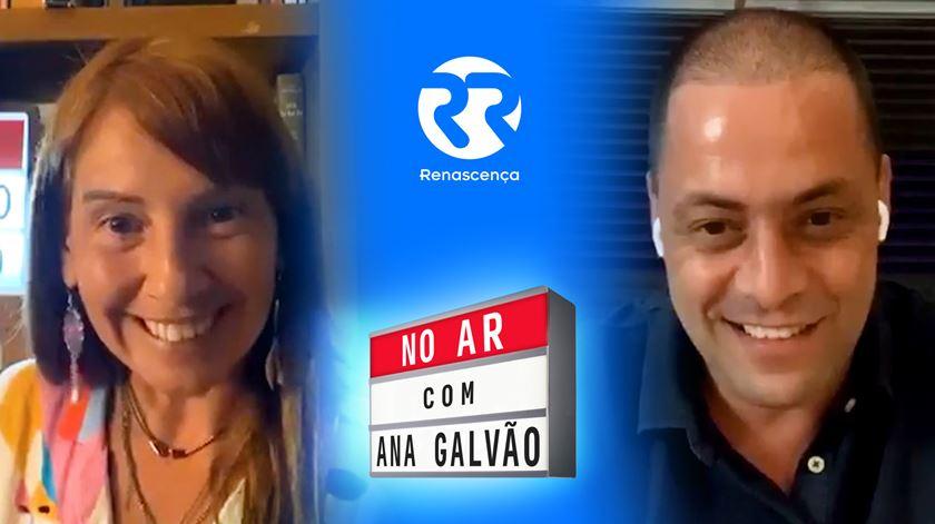 No Ar com Ana Galvão e António Zambujo