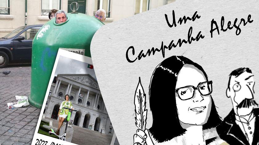 Uma Campanha Alegre: um partido reciclável