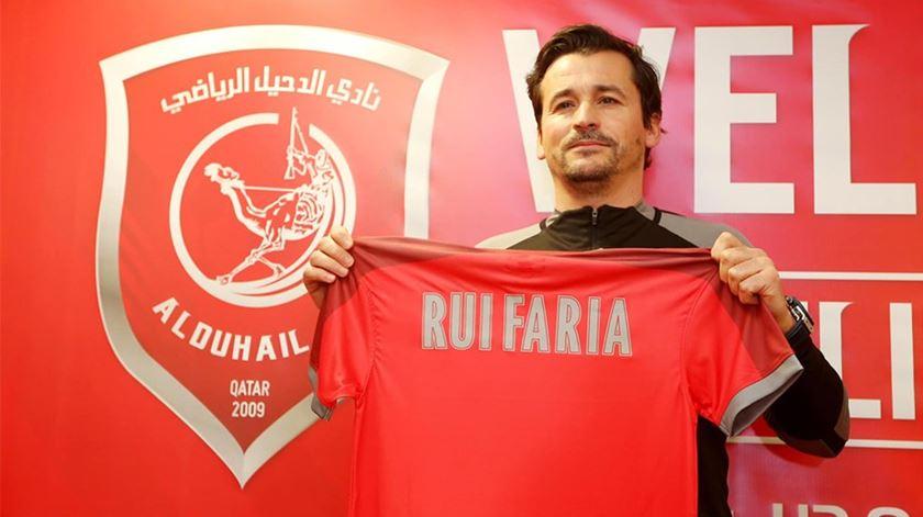 Rui Faria treina o Al Duhail. Foto: DR
