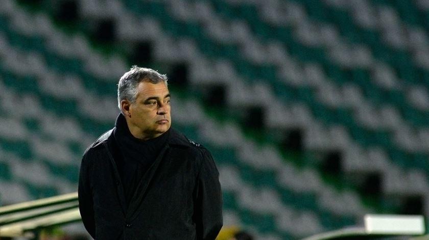 José Couceiro, treinador do Vitória de Setúbal. Foto: Rui Minderico/Lusa