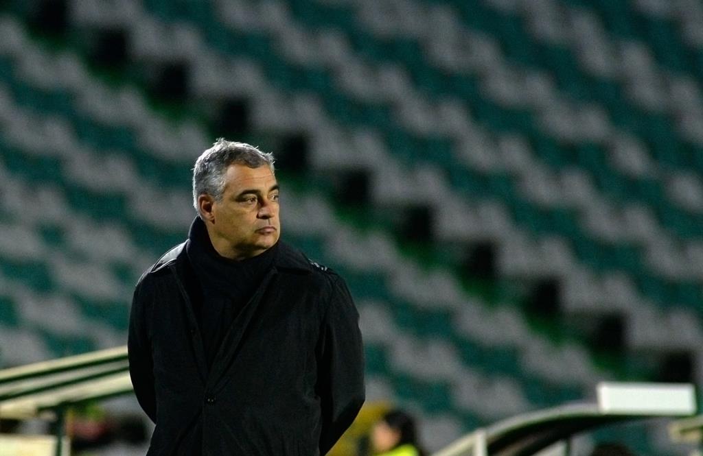 José Couceiro, diretor técnico da FPF, tem vasta experiência no futebol, em cargos diferentes Foto: Rui Minderico/Lusa