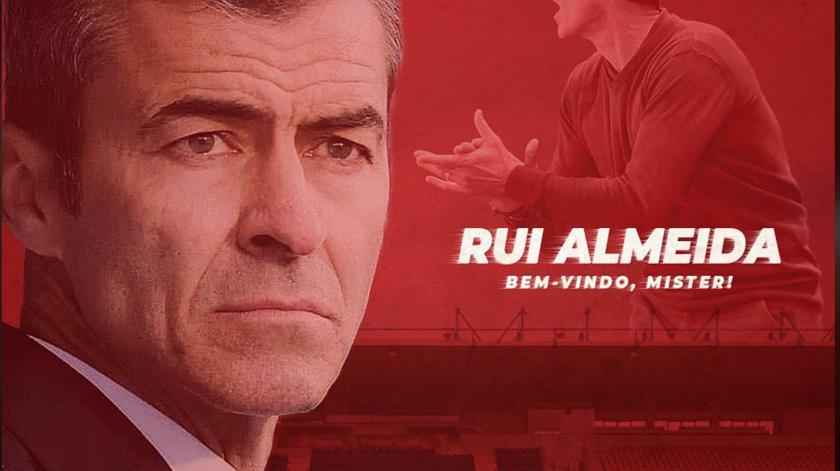 Rui Almeida quer estabilizar o Gil Vicente na I Liga