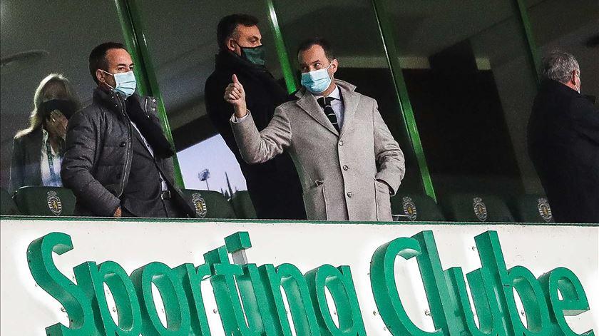 Frederico Varandas acusa DGS de mudar regras em cima do Sporting-FC Porto