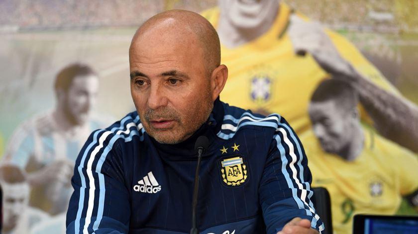 Sampaoli assume o comando do Santos