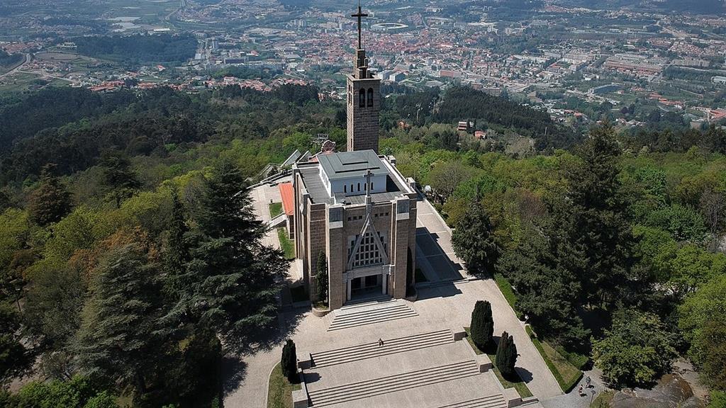 Santuário da Penha, Guimarães Foto: DR