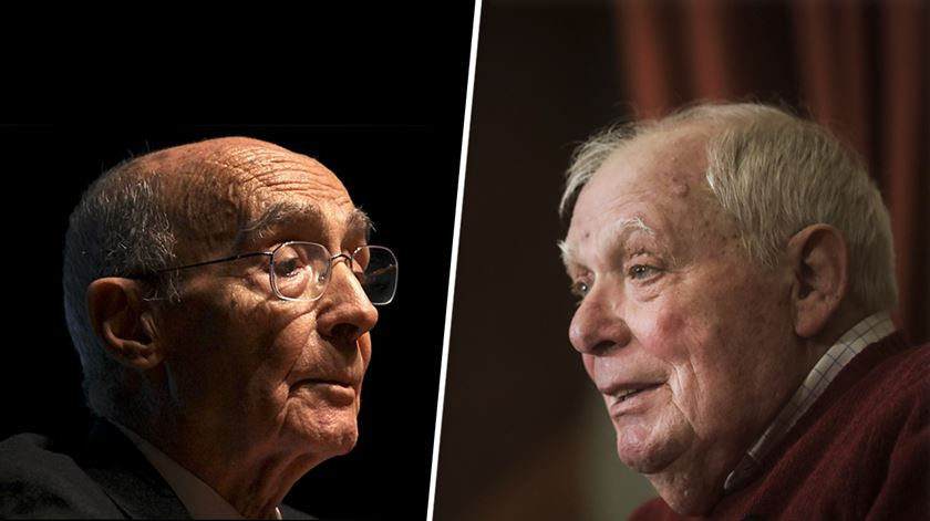 Saramago e António Lobo Antunes, dois autores incontornáveis das últimas décadas