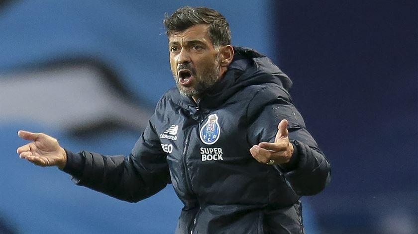 Sérgio Conceição, FC Porto. Foto: Manuel Fernando Araújo/Lusa
