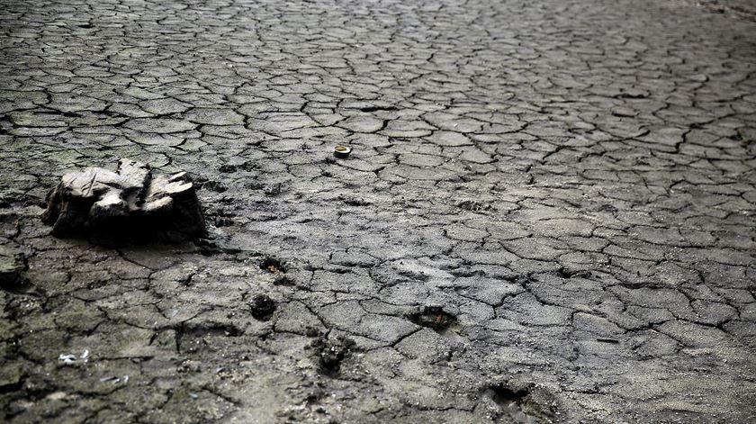 A barragem de Fagilde tem neste momento 8,4% da capacidade de água que consegue armazenar