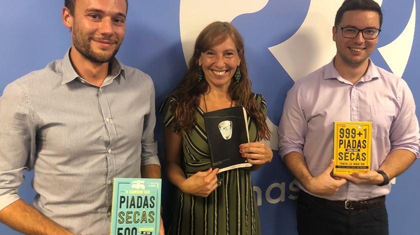 Pedro Pinto e Gonçalo Castro entrevistados por Ana Galvão - 04/09/2018