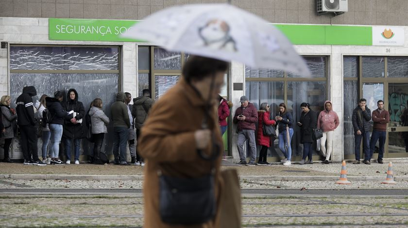 Mais 108 mil desempregados inscritos em relação a 2019