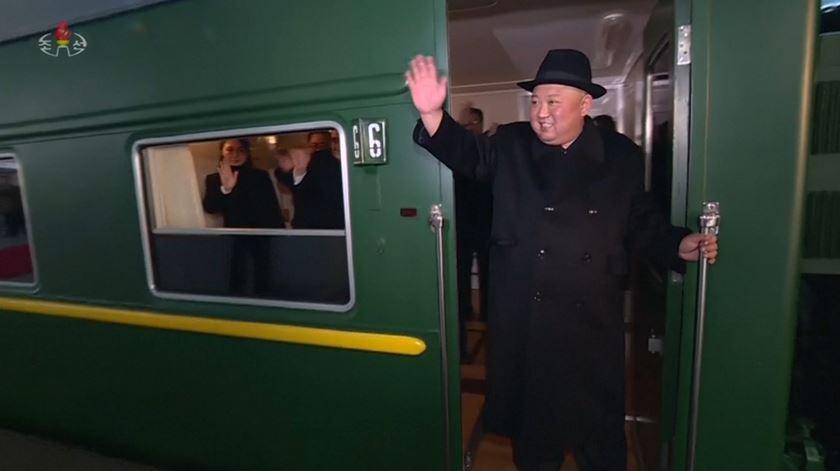 Kim Jong-un visita a China pela quarta vez a bordo de um comboio blindado