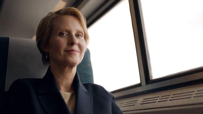 """Cynthia Nixon. A Miranda de """"Sexo e a Cidade"""" concorre para governadora"""