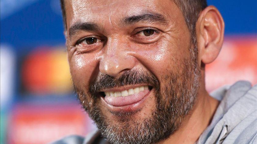 Sérgio Conceição coloca as fichas todas nos seus jogadores. Foto: Manuel Araújo/Lusa