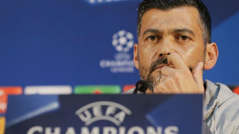 Sérgio Conceição, treinador do FC Porto. Foto: Manuel Araújo/Lusa