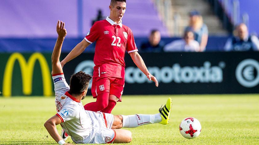 Dérbi dos Balcãs deu empate. Foto: EPA