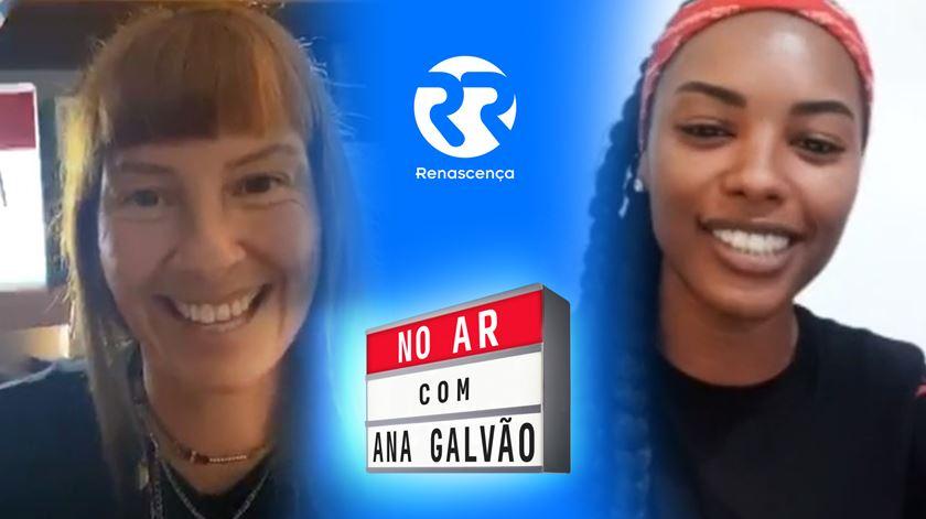 Sharam Diniz No Ar com Ana Galvão