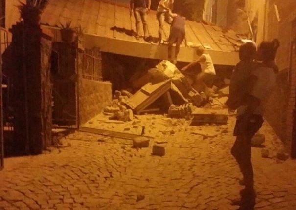 Bebé resgatado dos escombros no sismo de Ísquia