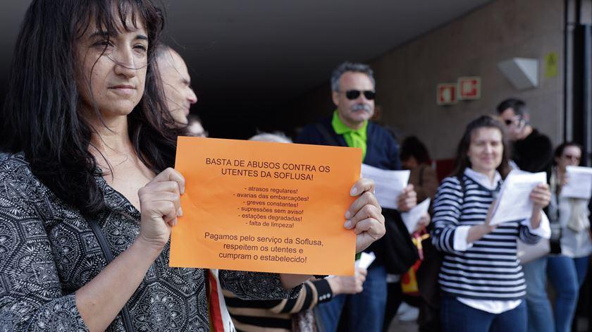 Comissão de utentes do Barreiro não está satisfeita. Foto: António Cotrim/Lusa