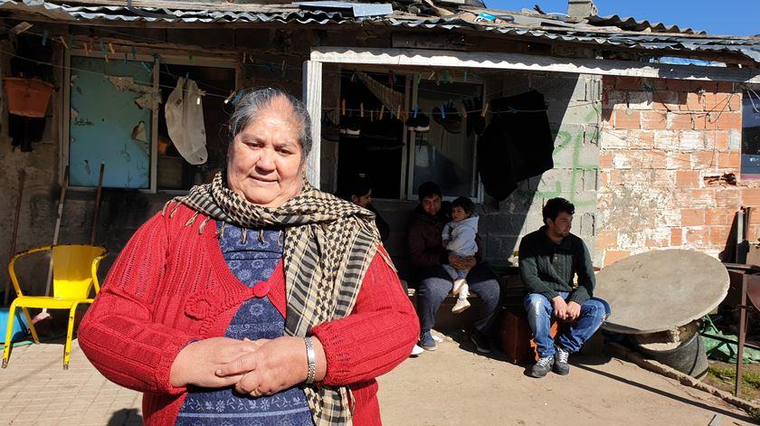 Comunidade cigana de Bragança queixa-se de discriminação Foto: Olímpia Mairos/RR