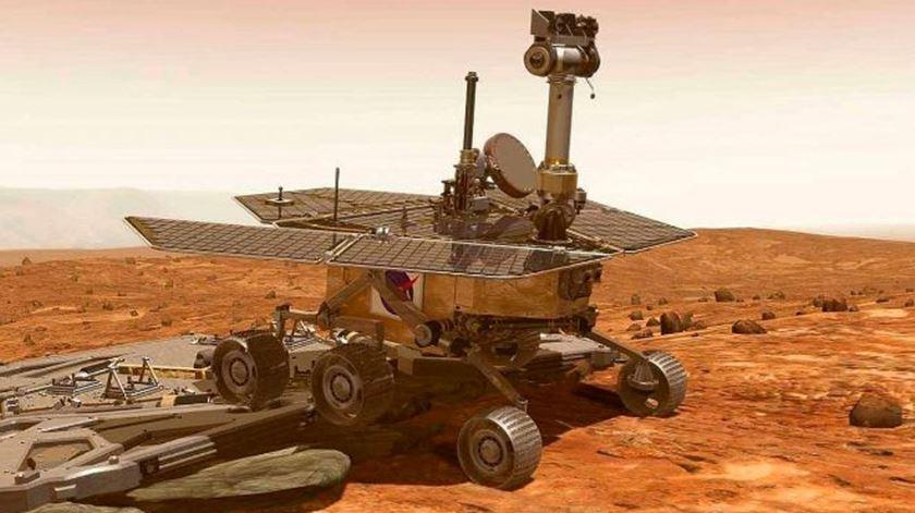 """Missão """"Opportunity"""" da NASA em Marte chega ao fim"""