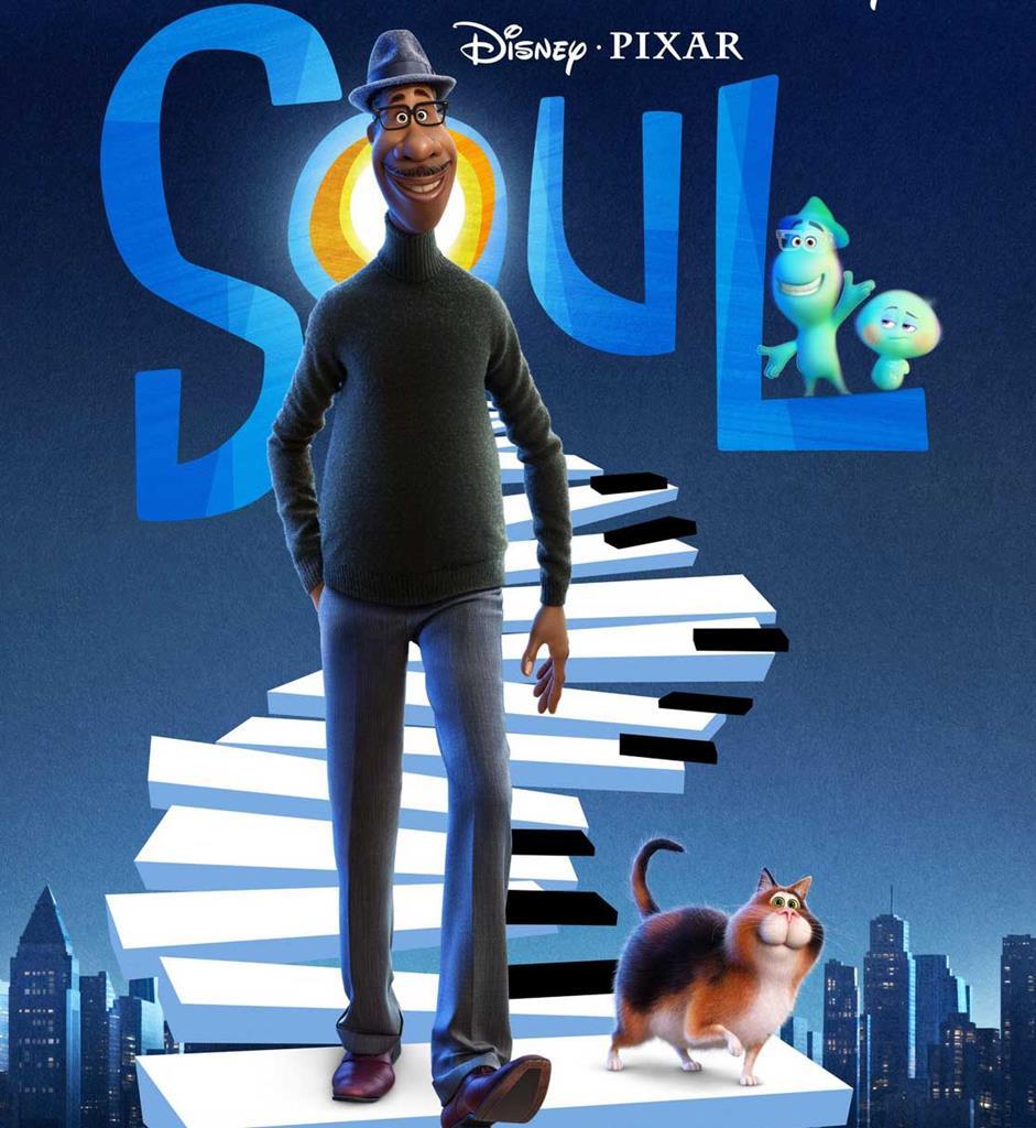 Póster oficial do filme Soul. Foto: Pixar