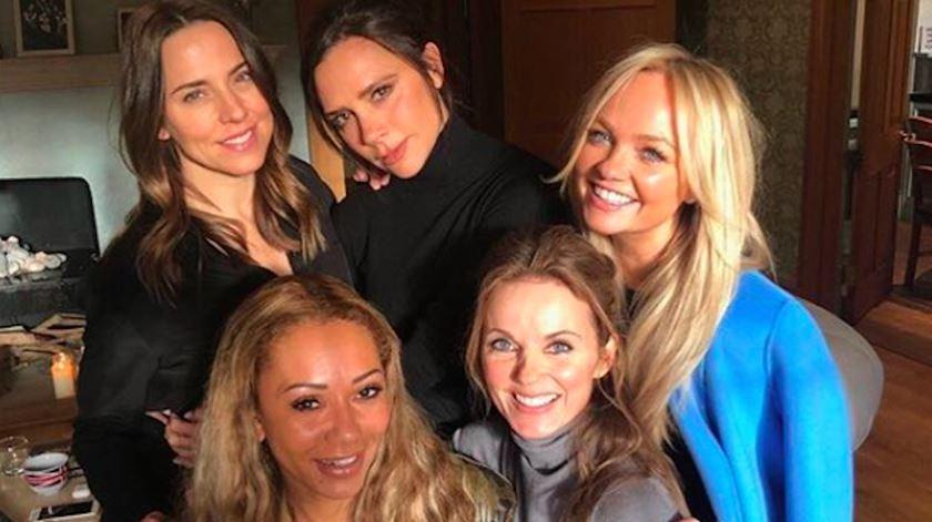Pode o regresso das Spice Girls acontecer no casamento real?