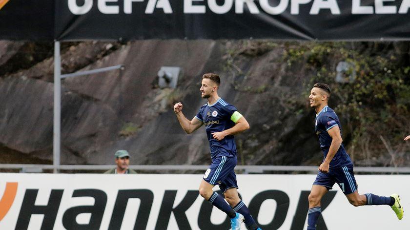 Sporar está em Lisboa para assinar pelo Sporting