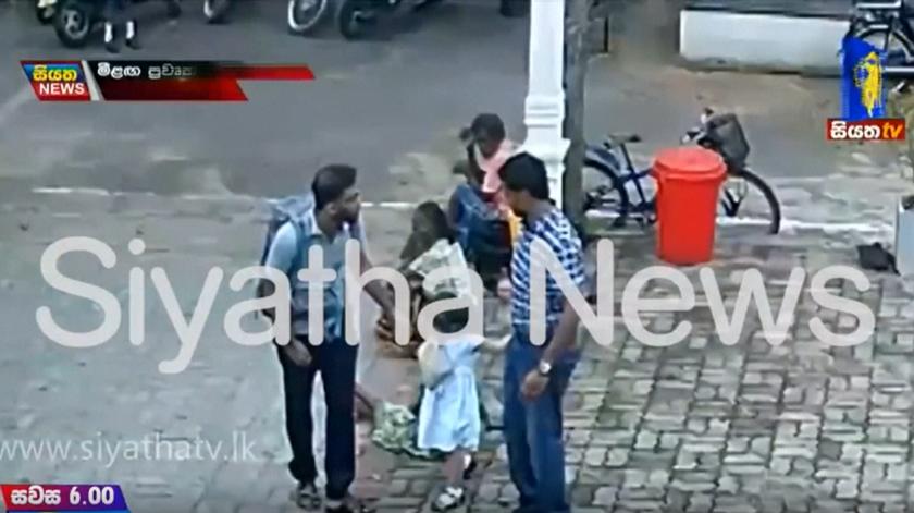 Sri Lanka. Imagens mostram suspeito bombista a entrar em igreja onde morreram 50 pessoas