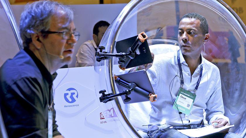 A magia da rádio também foi estrela na feira das novas tecnologias
