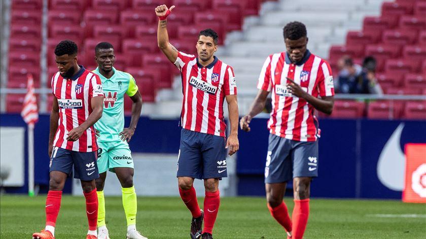Félix marcou, Suárez bisou pelo Atlético Madrid