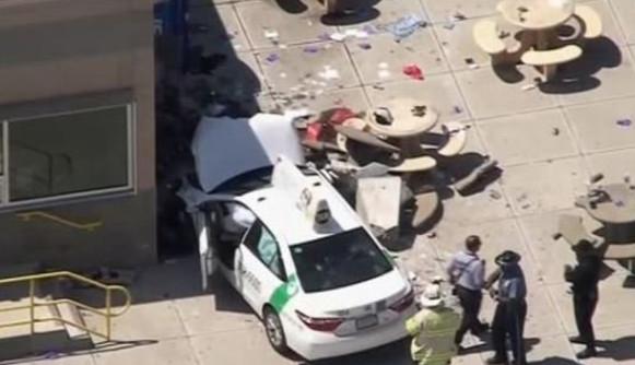 Despiste de táxi em Boston faz vários feridos