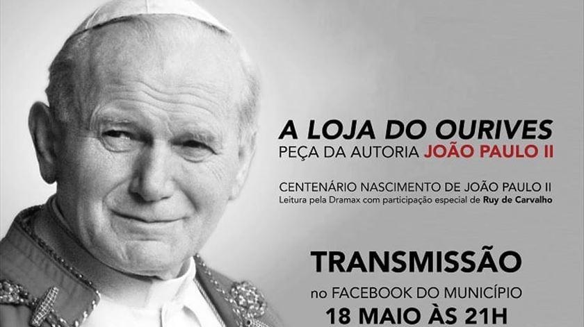 A homenagem vai ser transmitida em direto no Facebook. Foto: Facebook/Teatro Dramax