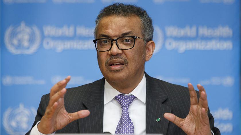 Diretor da OMS realça importância de investimento na saúde. Foto: Salvatore di Nolfi/EPA