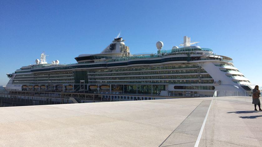 Petição contra poluição dos navios de cruzeiro já tem mais de 800 assinaturas