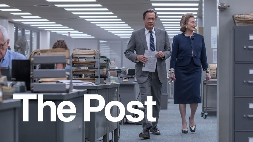 """The Post"" um filme de Steven Spielberg com Meryl Streep e Tom Hanks"