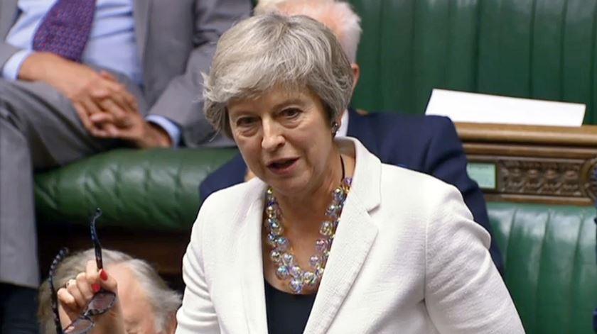 Foto: Vídeo Parlamento britânico/EPA