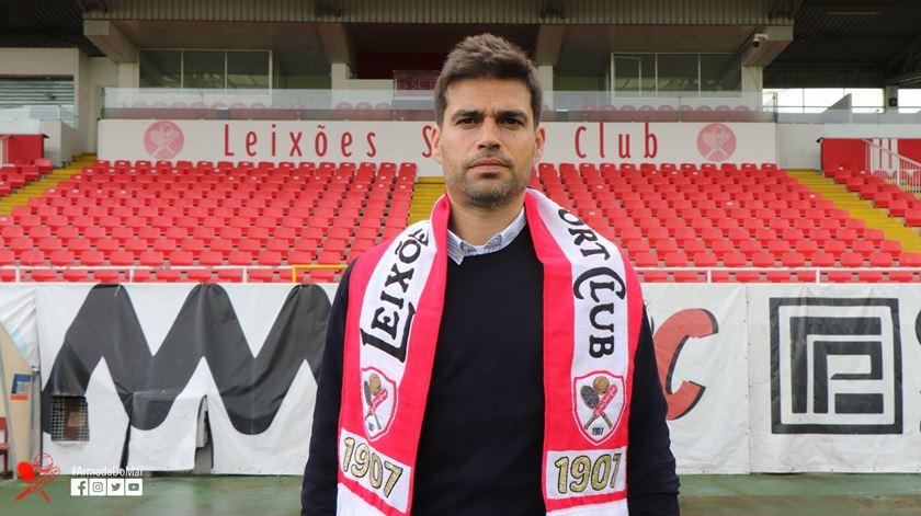 Leixões confirma Tiago Fernandes como novo treinador